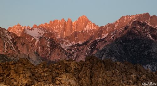 Mount Whitney Sunrise Glow