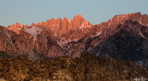 Mount Whitney Sunrise Glow