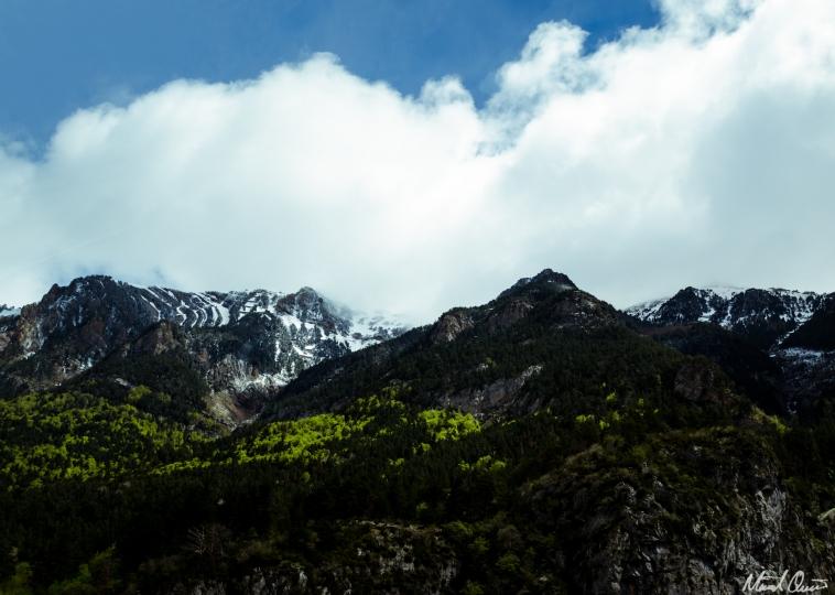 Pyrenees France Spring Snow