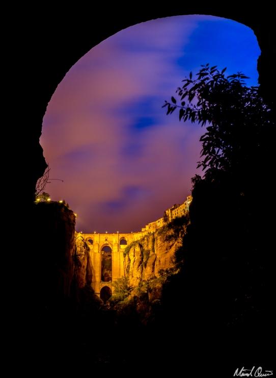 Ronda Spain Puente Nuevo Bridge Arch