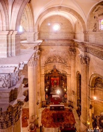 Ronda Spain Santa Maria la Mayor Roof