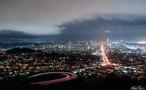 San Francisco Twin Peaks Storm