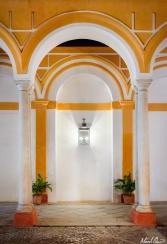 Seville Spain Alcazar Archway