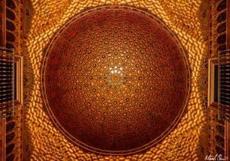 Seville Spain Alcazar Ceiling