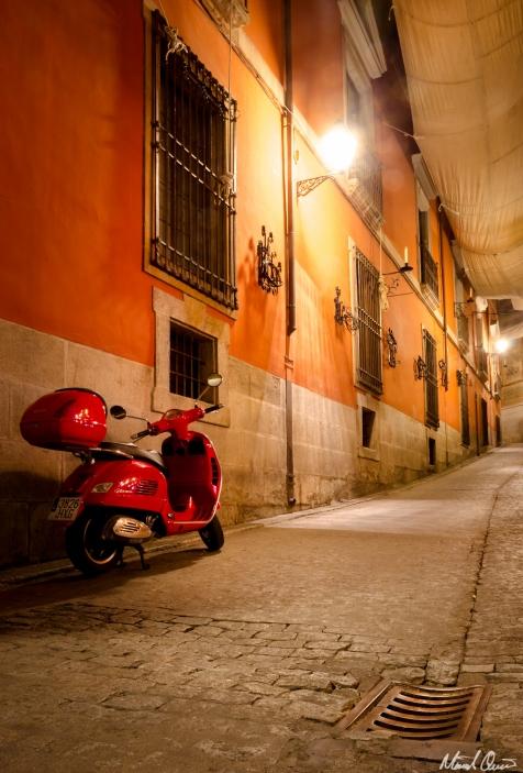 Toledo Spain Night Street