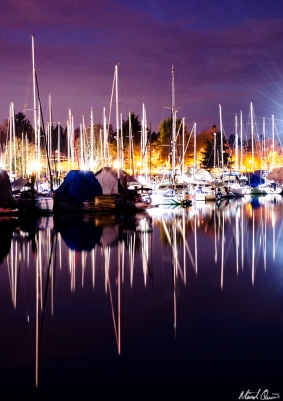 Vancouver Boat Reflections
