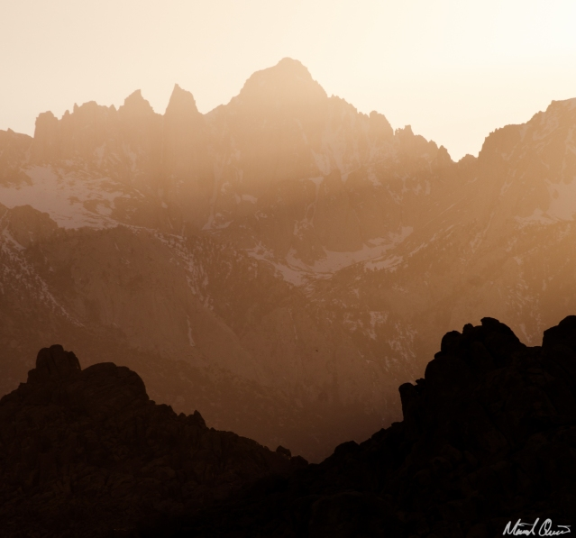 Whitney Portal Sunset
