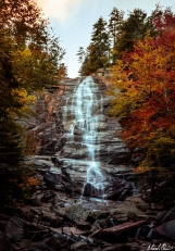 Autumn Color Arethusa Falls White Mountains