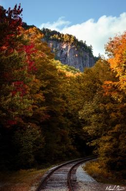 Autumn White Mountains Railroad
