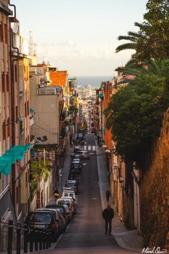 Barcelona Sunset Street