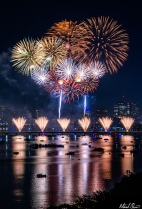 Boston Fourth of July Fireworks 1