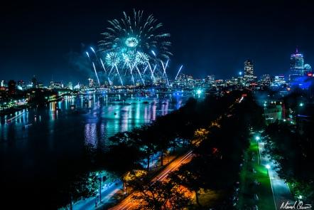 Boston Fourth of July Fireworks 3