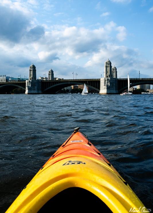 Cahrles River Kayaking