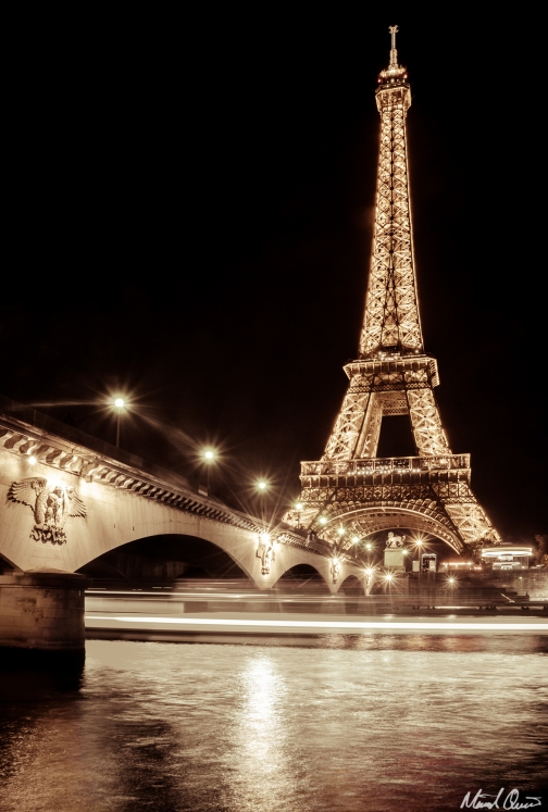 Eiffel Tower River