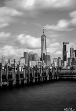 New York City From Liberty Island