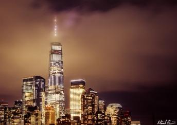 NYC Skyline Glow