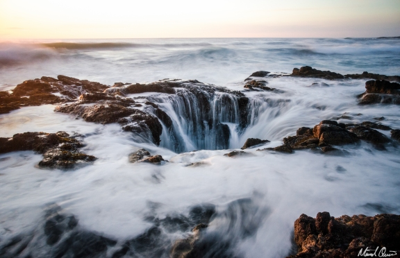 Oregon Coast Thor's Well