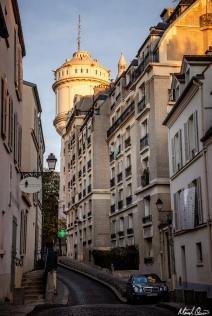 Paris Evening Streets