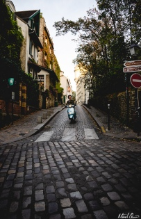 Paris Scooter Streets