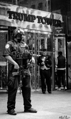 Trump Tower Guard