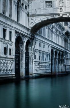 Venice Bridge of Sighs Long Exposure