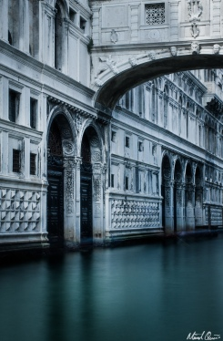 Venice Bridge of Sighs Long Exposure