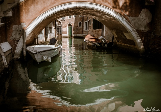 Venice Bridge Reflection