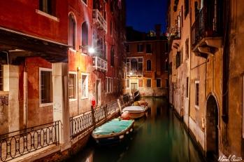Venice Canal Night