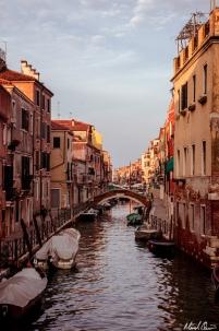 Venice Canal Sunrise
