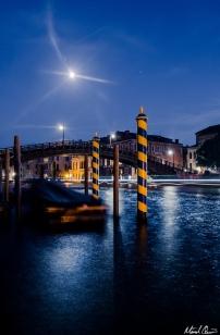 Venice Grand Canal Moonlight