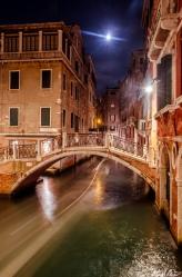 Venice Long Exposure Gondola