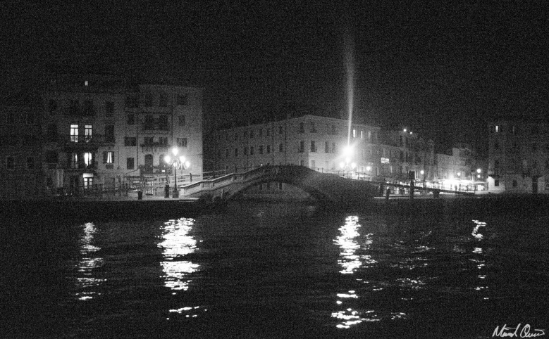 Venice Midnight Bridge