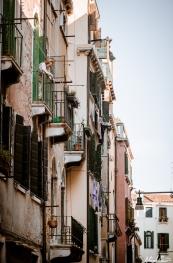 Venice Woman Lowering Basket
